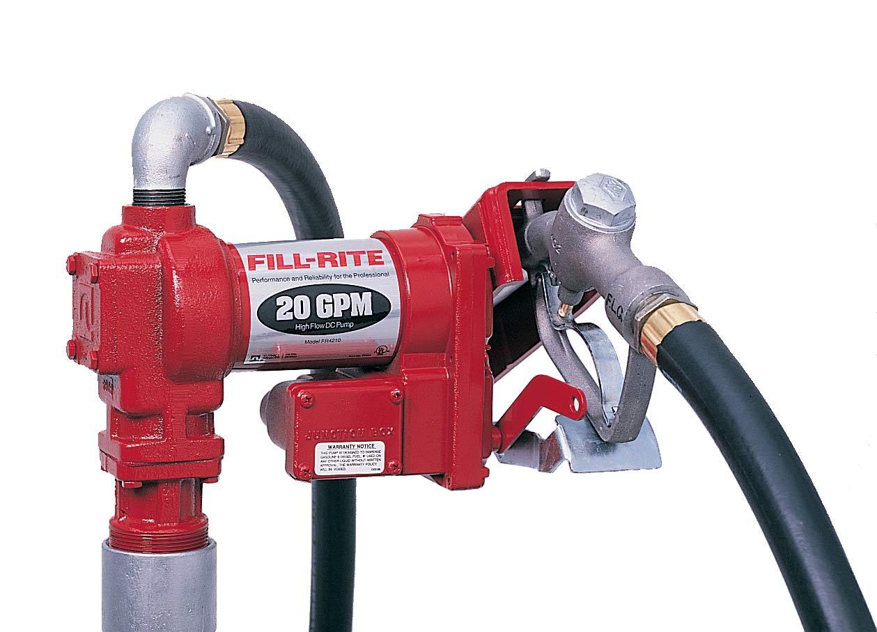 防爆大流量加油泵